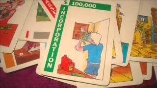 DEMO OF THE ENTREPRENEUR CARD GAME JUGGLE COMPANY ASSETS, AVOID TAX AND MORE. PLUS WHAT IT IS WORTH