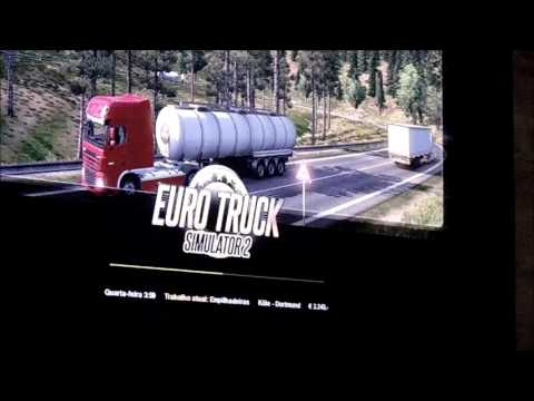 euro truck simulator 2 com xbox 360 controller youtube. Black Bedroom Furniture Sets. Home Design Ideas