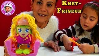 Knet Set Friseur von Tchibo - Lustiger Frisierspaß aus Knetmasse - Kinderkanal