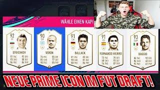 Fifa 19: Krankes Team + Neue PRIME ICON im Fut Draft, die ich noch NIE vorher hatte! - Ultimate Team
