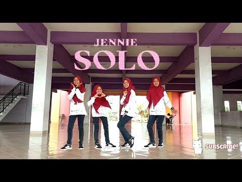 JENNIE - 'SOLO' Dance Cover Hijab By Putri Widya