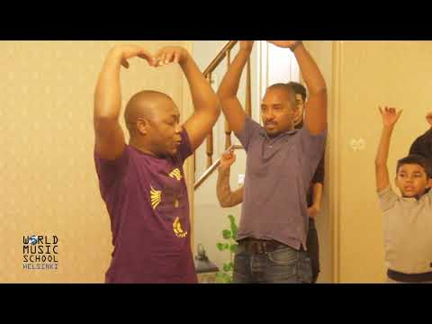 Folk Dances and Music from Burkina Faso and Tanzania in Helsinki