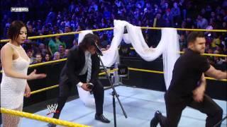 WWE NXT -Derrick Bateman interrupts the wedding of Curtis and Maxine