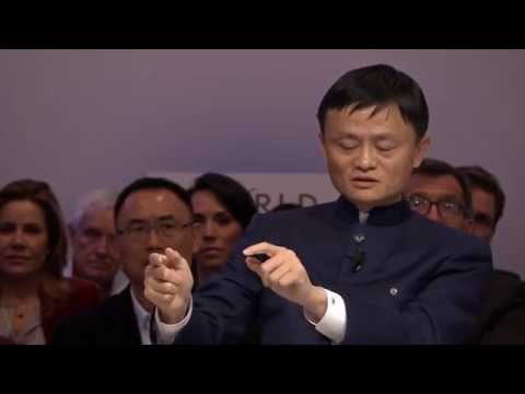 Jack Ma Interview || World Economic Forum || Never Give Up
