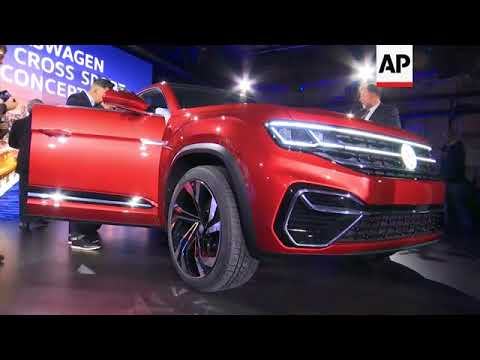 SUVs are king at New York International Auto Show