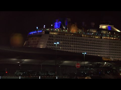 Royal Caribbean Cruise Ship Returns to Bayonne After Encountering Severe Weather