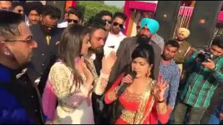 Kaur B full enjoy with Nisha Bano & jazzy B on Brother Marriage with many more artist