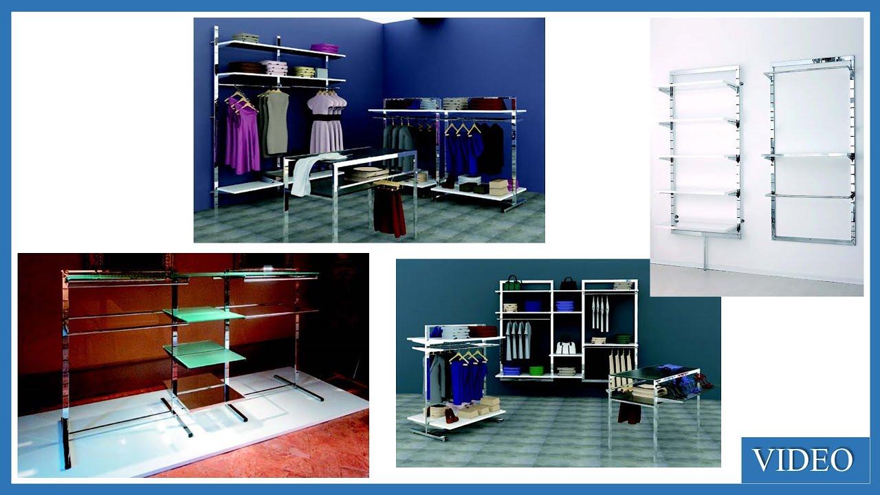 arredamenti scaffali componibili per negozi abbigliamento roma e ... - Arredamento Negozio Abbigliamento Usato Lombardia