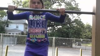Olivia and Alexandra do gymnastics??! Thumbnail