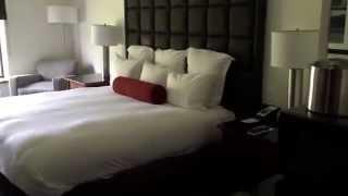 Inn on Woodlake resort extended room with king bed in Kohler Wisconsin