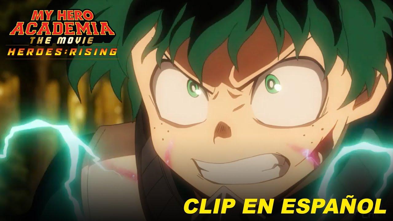 My Hero Academia: Heroes Rising, Clip #1 Doblaje en Español Latino. ¡Estreno en México 3 de Dic!