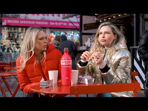Sara Foster Tries to Find Erin Foster a Date In Times Square with SVEDKA Vodka