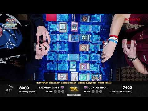 2018 WCQ: National Championship - UK - Top 4 - Thomas Rose vs Conor Zhou