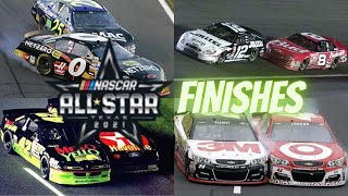 Epic NASCAR All-Star Race \u0026 Open Finishes