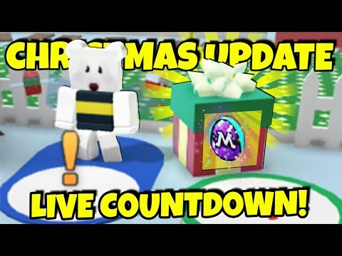 Bee Swarm Simulator Christmas Update Live Countdown Server