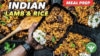 Meal Prep - Indian Lamb & Cauliflower Rice Recipe