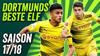 Weigl, Pulisic, Aubameyang - Dortmunds Beste Elf der Saison 2017/18