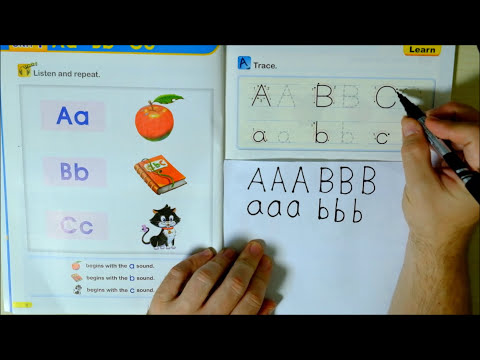Phonics 1 CH1 (Letters A, B and C words and sounds) English Lesson