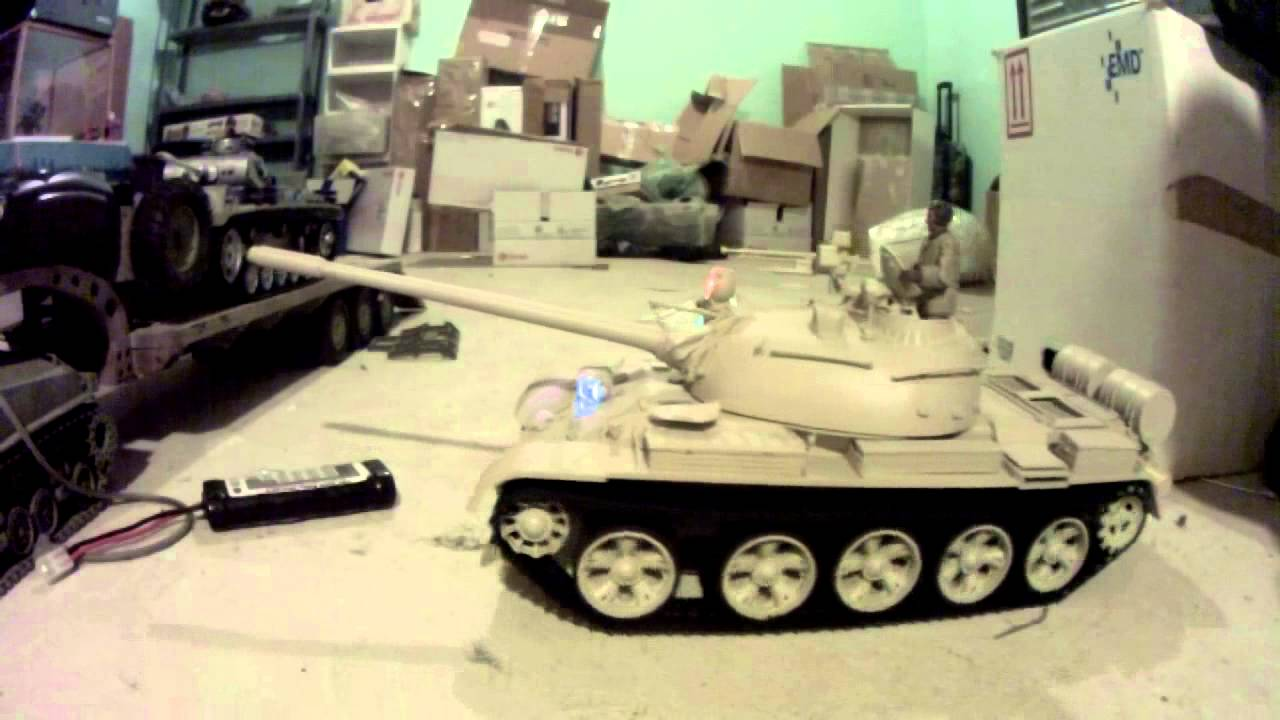 1/10 RC Tiger 332 from Hooben with Elmod Fusion control unit - YouTube