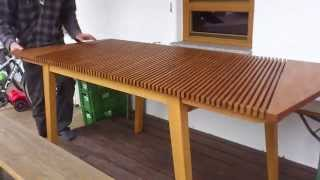 Expandable Table - handcrafted Unicum