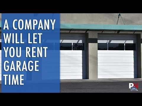 A Company Now Makes It Possible To Rent Garage Time