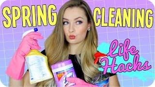 Spring Cleaning Life Hacks, DIYS & Tips!