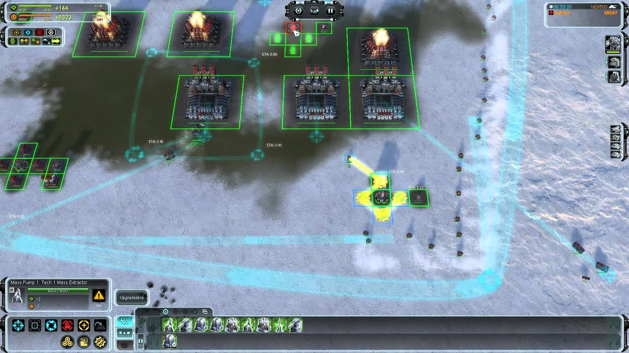 Supreme Commander Forged Alliance gameplay tips part 1 - YouTube