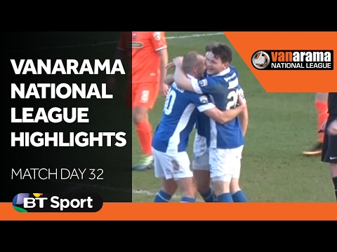 Vanarama National League Highlights Show: Matchday 32