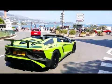 Supercars dans Monaco