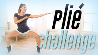 Plie Squat Challenge! | Thigh Workout