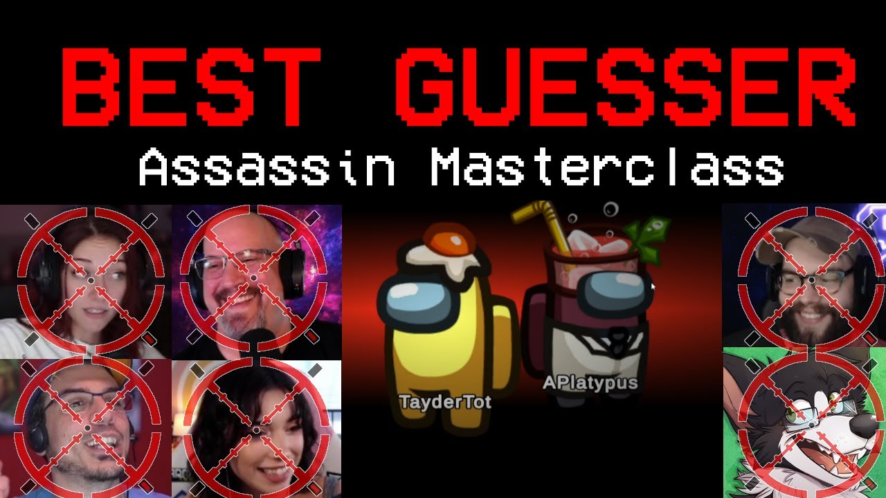 ASSASSIN KILLS OVER HALF THE LOBBY! (6 people die to the Best Guesser in the Game)