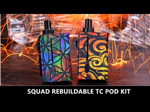 Squid Industries Squad Rebuildable VW Pod Kit Preview