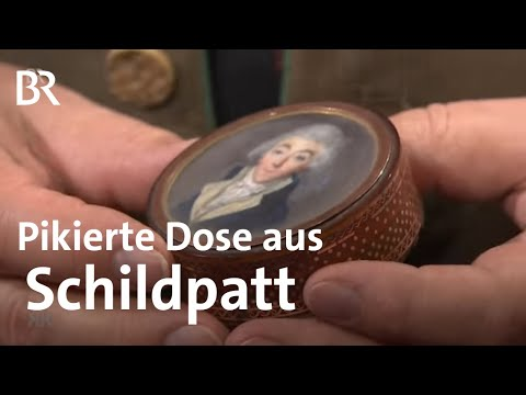 Leicht Pikiert: Schnupftabak-Dose Aus Schildpatt | Kunst + Krempel | BR