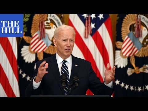 LIVE: President Joe Biden holds his first formal press conference