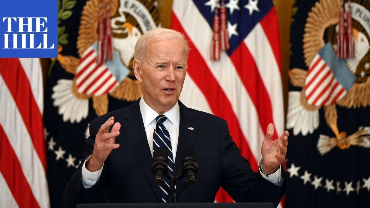 President Joe Biden's first formal press conference | FULL PRESS CONFERENCE