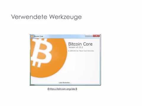Bitcoin – ABC – Deutsch - Praxis 1 [2015]