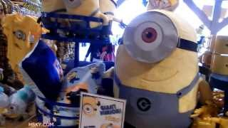 V#11 HSKY Despicable Me Minions Shopping @ Universal Studio Hollywood 2014 HD