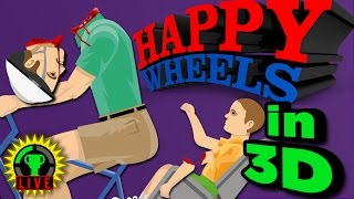 HAPPY WHEELS in 3D?! - I Spill My GUTS and Glory