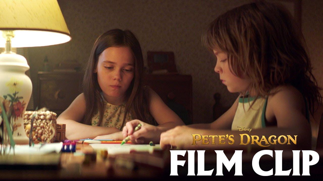 """""""Is Elliot Your Imaginary Friend?"""" Clip - Disney's Pete's Dragon"""