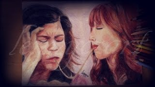 Drawing Rocky and Cece   Bella and Zendaya