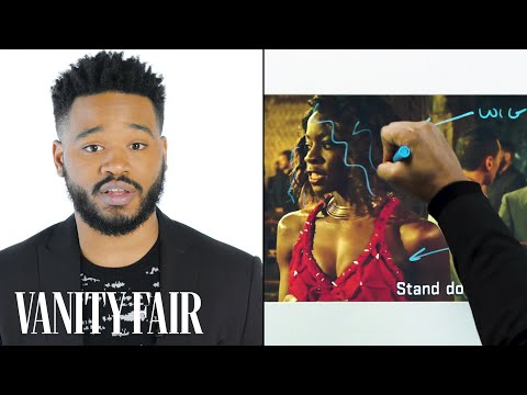 Black Panther's Director Ryan Coogler Breaks Down a Fight   Notes on a   Vanity Fair