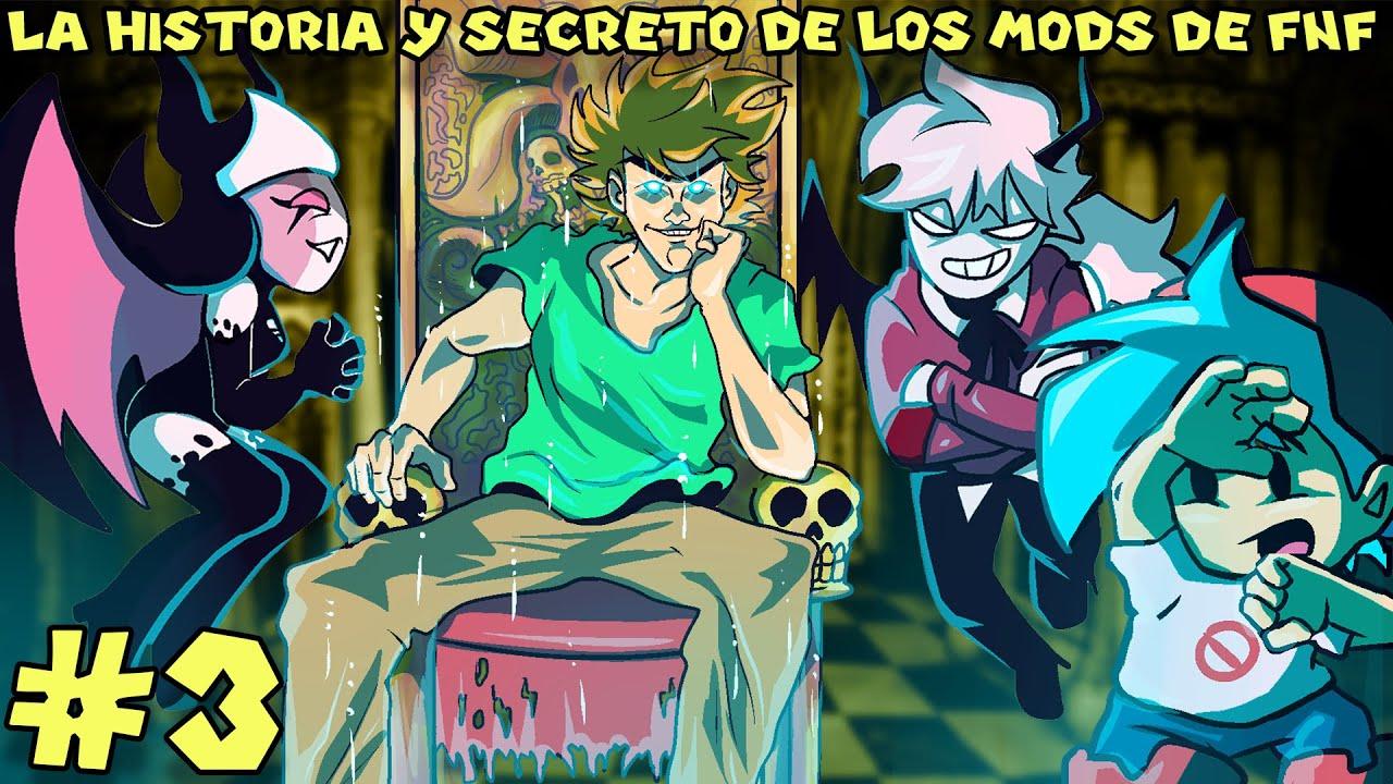La Historia y Secretos de los MODS de Friday Night Funkin (PARTE 3) - Pepe el Mago