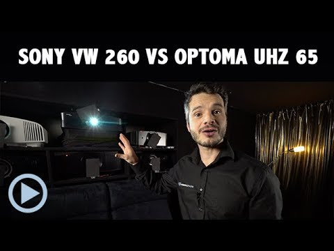 4K Duell: Sony VW260 vs Optoma UHZ65