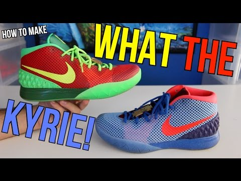 What The Kyrie 1 (HOW TO MAKE ON NIKE iD)