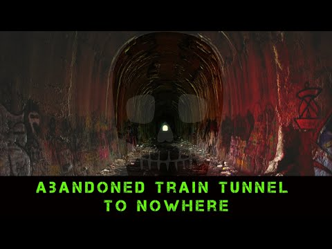 Abandoned Train Tunnel To NOWHERE & The 808 Train