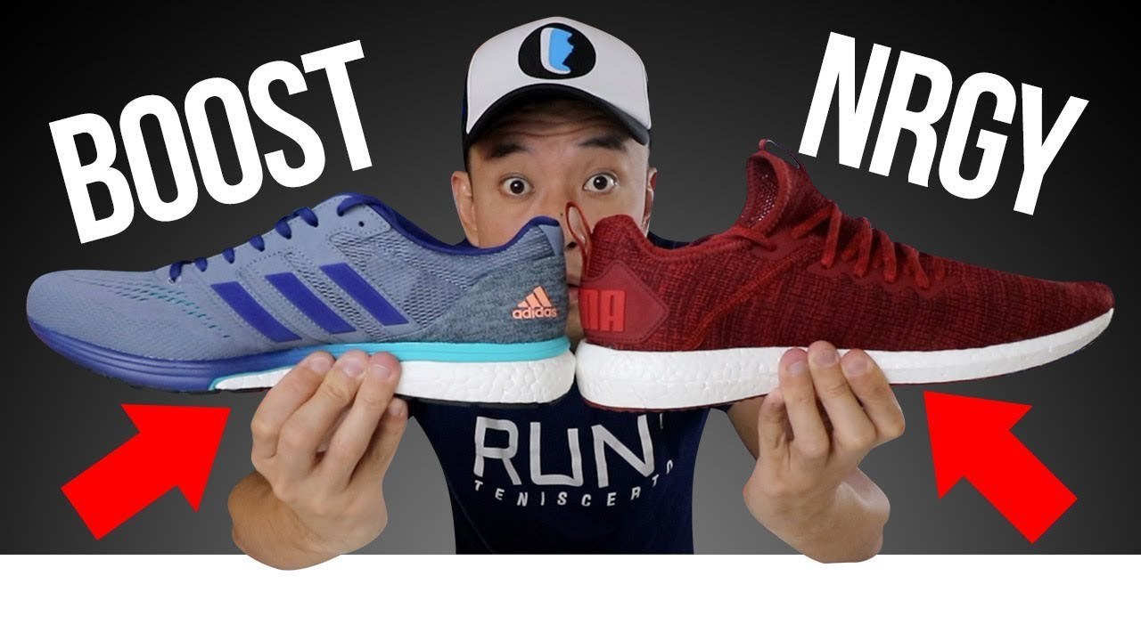 BOOST da ADIDAS vs NRGY da PUMA - YouTube 0b88714095996