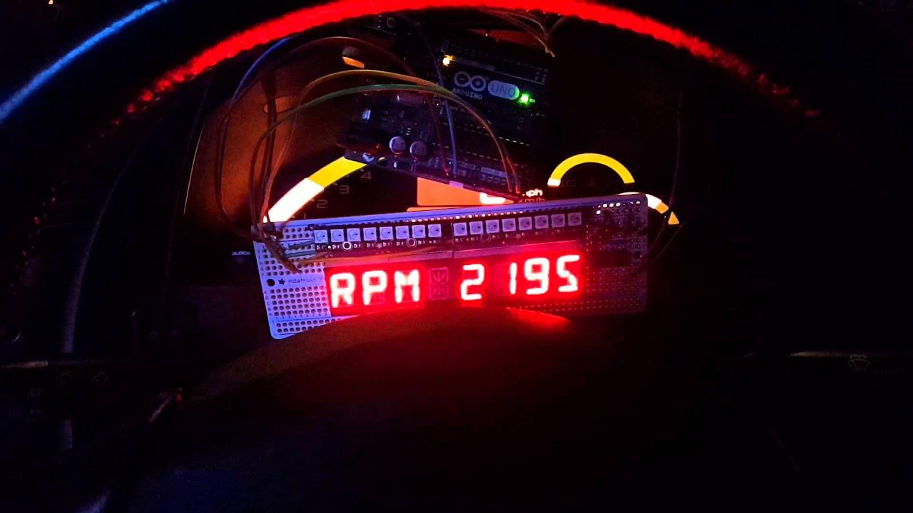 Arduino OBD-II UART Test by humbucker87