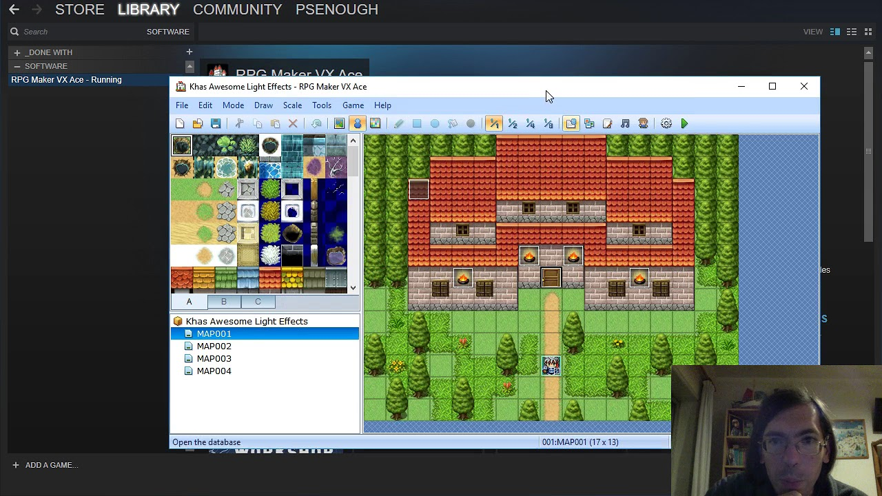 How To: Open two concurrent instances of RPGMaker on steam!