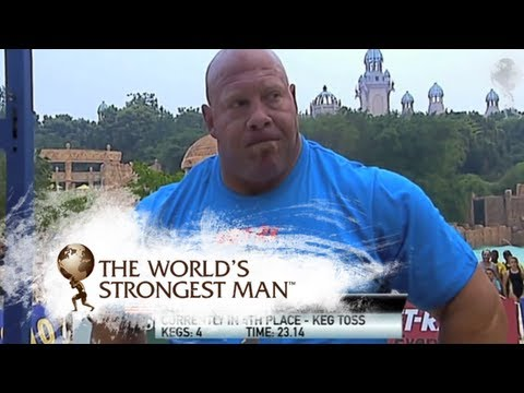 2010 Keg Toss: Nick Best | World's Strongest Man