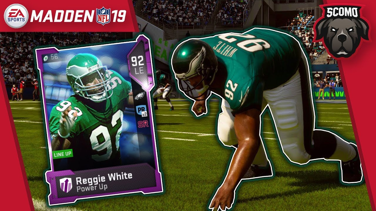 Screaming Blitz Power Up Reggie White Is Unblockable Madden Nfl 19 Gameplay